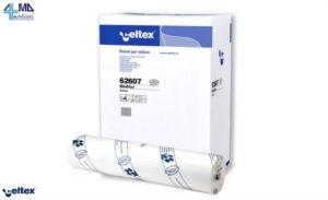 CELTEX COLLECTION LENZUOLINO MEDICO PURA CELLULOSA 2 VELI (60CM x 80MT) A 2,79€ A ROTOLO (CONFEZIONAMENTO MINIMO 60 ROTOLI)