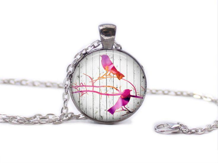 Ketten - Vogel-Halsketten-Vogel-hängende Weinlese Art - ein Designerstück von MadamebutterflyMeagan bei DaWanda