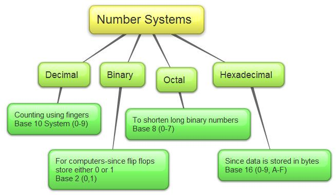 The Decimal, Binary, Octal