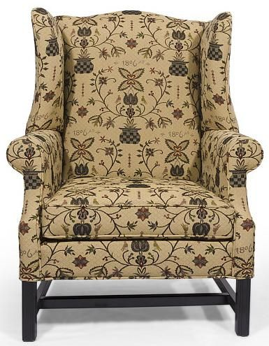 HomeSpun Upholstered Chair By Lancer
