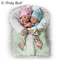 302094001 - Baby Doll Set: Madison And Mason Twins Baby Doll …
