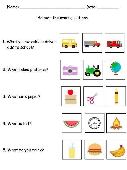 This mega pack contains TONS of resources to help your students learn how to successfully answer who, what, where, when, and why questions. This skill can be a struggle for children with autism, cognitive impairments, or speech disorders. Using visuals, m