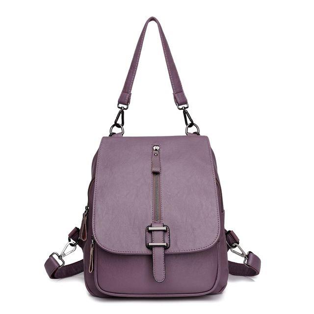Luoqi высокое качество женские рюкзаки Новые поступления плечо сумки повседневные Рюкзаки Колледжа для девочек и подростков из искусственной кожи школьная сумка купить на AliExpress