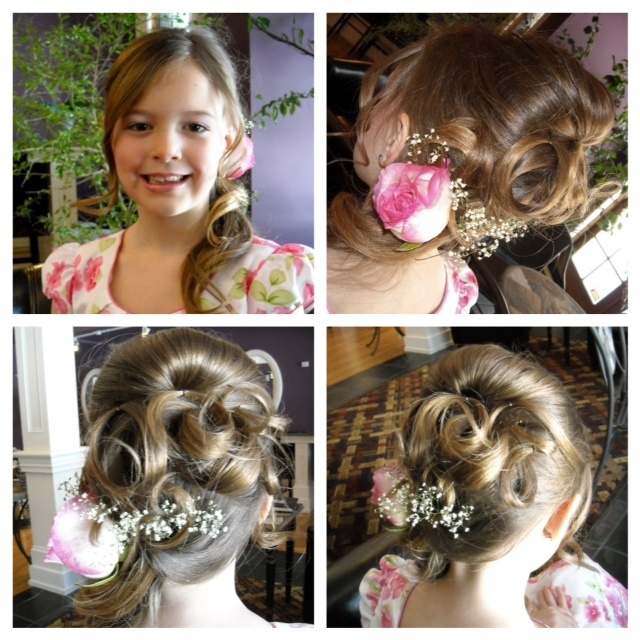 112 best images about flower girl hairstyles on pinterest