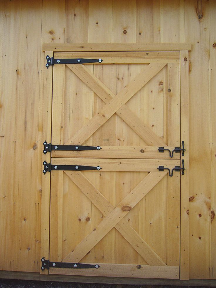 Shed Door Ideas shed door plans Dutch Barn Doors How To Build Dutch Door Page To Learn About