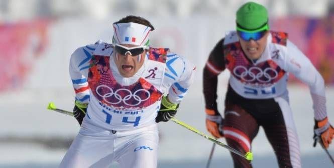 Ski de fond - CM (H) - Renaud Jay en demi-finales de l'étape de Coupe du monde de Lenzerheide