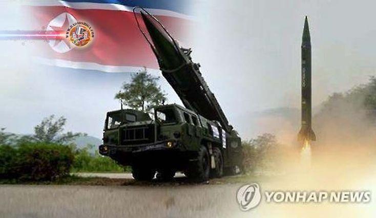 Coréia do Norte lançou mísseis Scud-ER. Um oficial do governo norte-americano sugeriu que os mísseis lançados pela Coréia do Norte na segunda-feira (6) pode