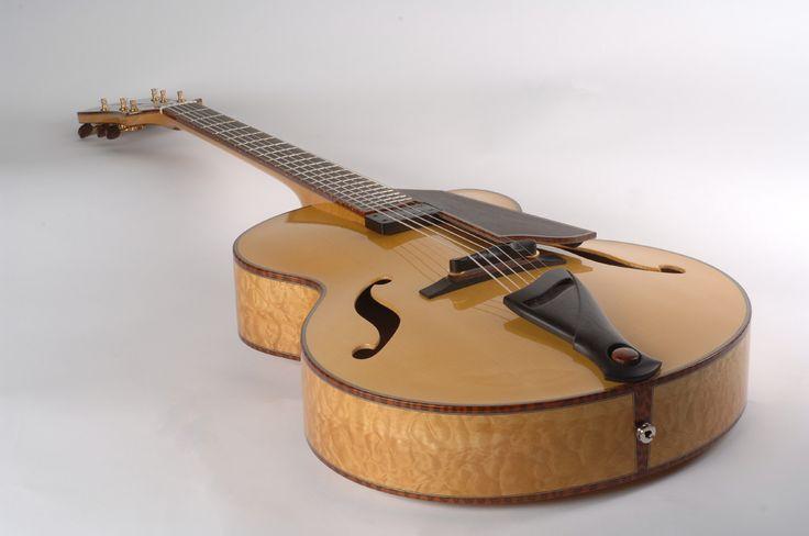 Mario Beauregard Guitar Builkder Luthier, Montreal, Canada @ Beauregard Guitars