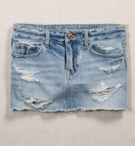 Love jean skirts