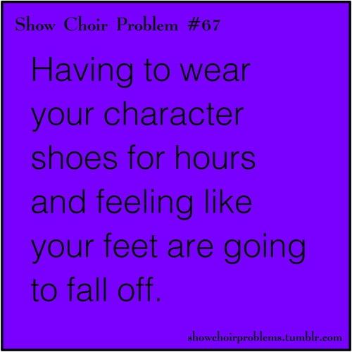 Show Choir Problem- this applies to regular choir too