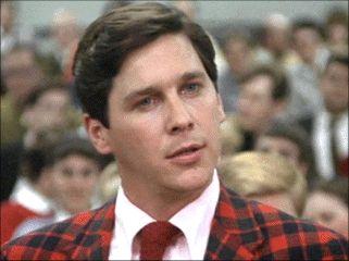 """Hi, Eric Stratton, Rush chairman, damn glad to meet you.""  Tim Matheson, Animal House"