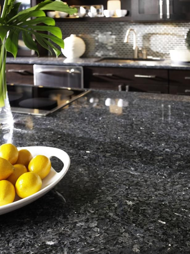 Countertops I Would Love In My Kitchen Dark Granite Adds A Touch Of Luxury  In The Kitchen. The Hard Surface Is Extremely Durable, And Stands Up Well  To Heat ...