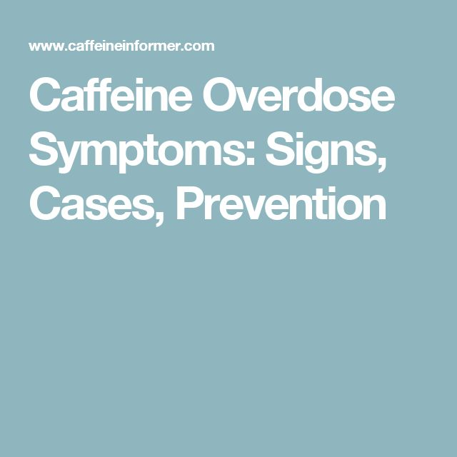 Caffeine Withdrawal Symptoms Fever