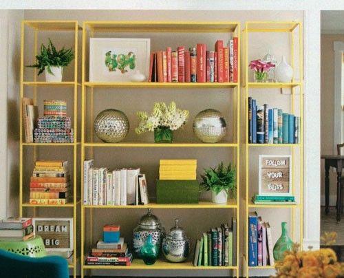 Lonny Mag shelf styling
