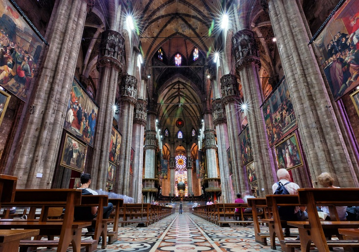 Milan Cathedral. Milan, Italy.: Places Ives, Dreams Places, Favorite Places, Milan Cathedrals, Beautiful Places, Places I D, Image, Milan Italy, Church Interiors