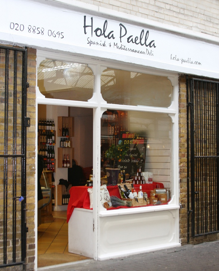 This deli /cafe at 7a Greenwich Market is a great place to meet friends and enjoy the fresh tasty paella hot from the pan. Lots of delicious pates, oils, olives and spices to buy too.
