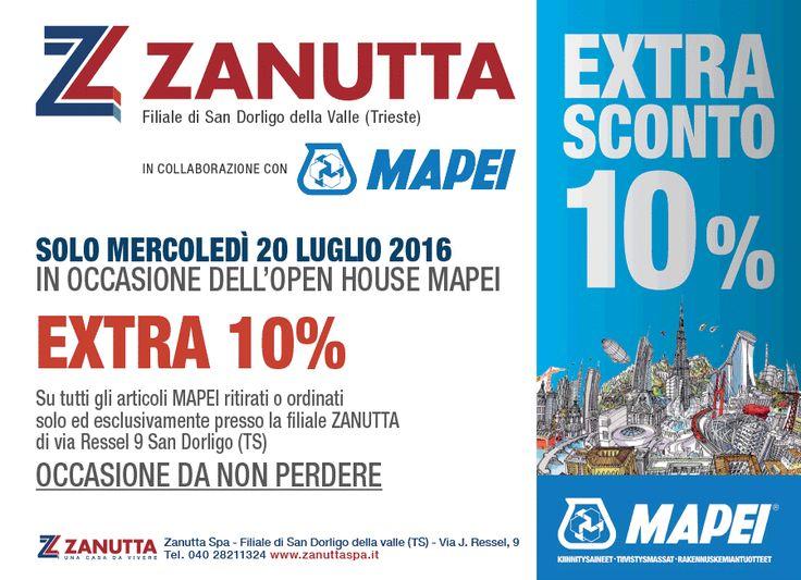 Siete in cerca di sigillanti? Il prossimo mercoledì nella filiale di San Dorligo della Valle, #Trieste, c'è l'Open House Mapei SpA, con sconti su tutti gli articoli del marchio! #SavetheDate  #zanutta #casadavivere #offerte #Mapei #home