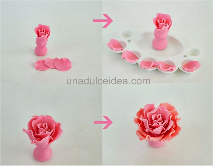Step by step (Fondant Flower)