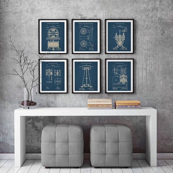 Nikola Tesla Patent , Dynamo Electic Motor,Tesla Electric Motors,Tesla Patent, Tesla Prints,Patentprints,PatentPrint,Tesla #P380