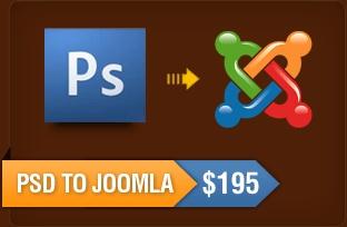 PSD to Joomla Theme Conversion Service