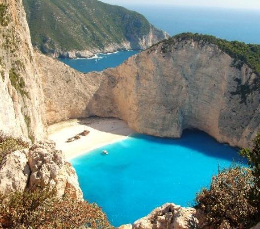 NAYAGIO BEACH - ISLAND ZAKYNTHOS (EPTANISA) GREECESwimming Pools, Ionian Sea, Buckets Lists, Greece, Beautiful Places, Blue Lagoon, Beach, Greek Islands, Sea Turtles