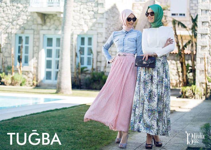 hijab fashion in tugba collection