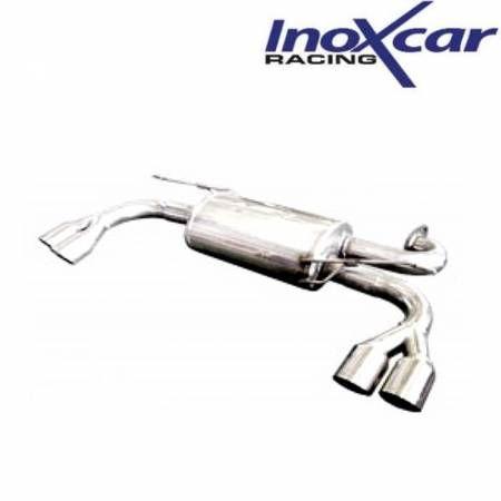 Silencieux échappement Inox 2 sorties Racing D+G 76mm Hyundai Genesis 2l0 Turbo
