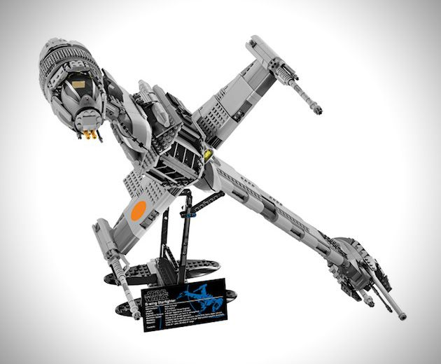 LEGO Star Wars Ulatime Collector Series B-Wing Starfighter 1 - One of my favorite ships besides Slave 1