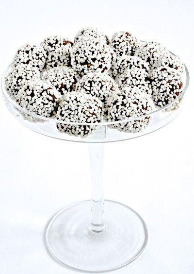 Tina Gustafsson » Chokladbollar de luxe
