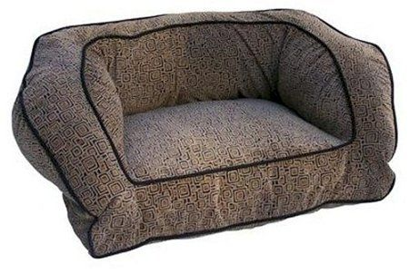 Snoozer Contemporary Pet Sofa, Large, Butter/Black - http://www.thepuppy.org/snoozer-contemporary-pet-sofa-large-butterblack/