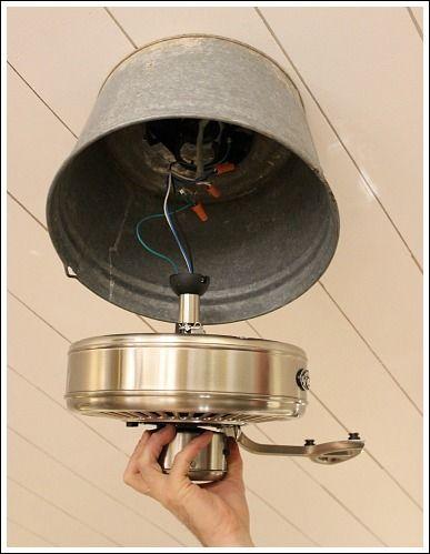 25 best ideas about unique ceiling fans on pinterest for Repurpose ceiling fan motor