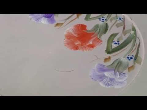 Clavel pincelado | Dominando Pinceladas