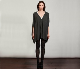 The Square Cardigan. Love this, so easy going and at the same time cool