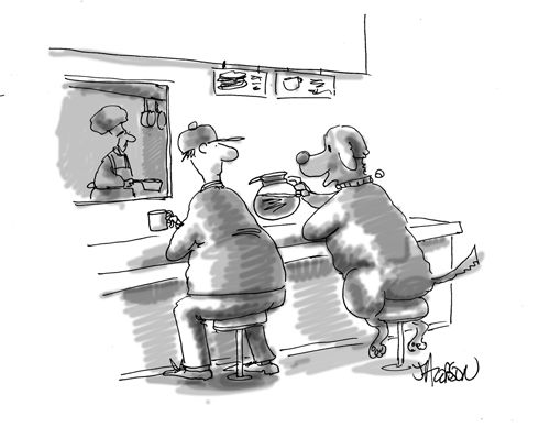 Modern Dog Cartoon Caption Contest | Modern Dog magazine