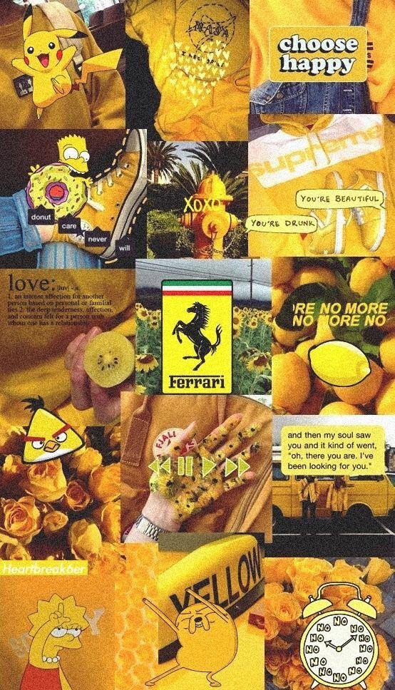 Pin by j❤️e🧡n💛n💚i💙f💜e💗r on yellow aesthetic in 2019