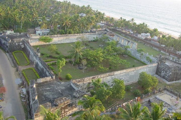 Anjengo Fort, Varkala Located about 36 km North of Thiruvananthapuram, near the famed beach of Varkala, and lying on the seacoast is Anjengo or Anjuthengu, meaning five coconut trees. A place of historic importance as well as beautiful natural setting, Anjengo is an ideal destination for those who don't mind walking around and explore what is in store. Your search for information on anything and everything related to ‪#‎Kerala‬, http://www.zeropoint.co.in/contact.php