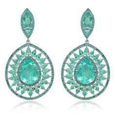 SUTRA Paraiba Earrings