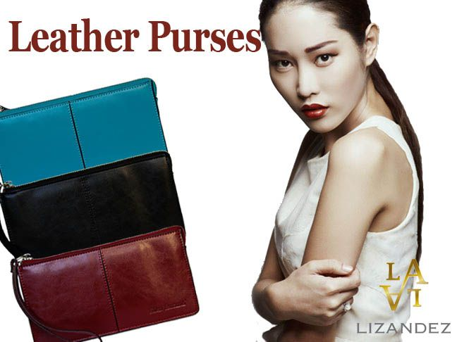 Luxurious Leather Purses