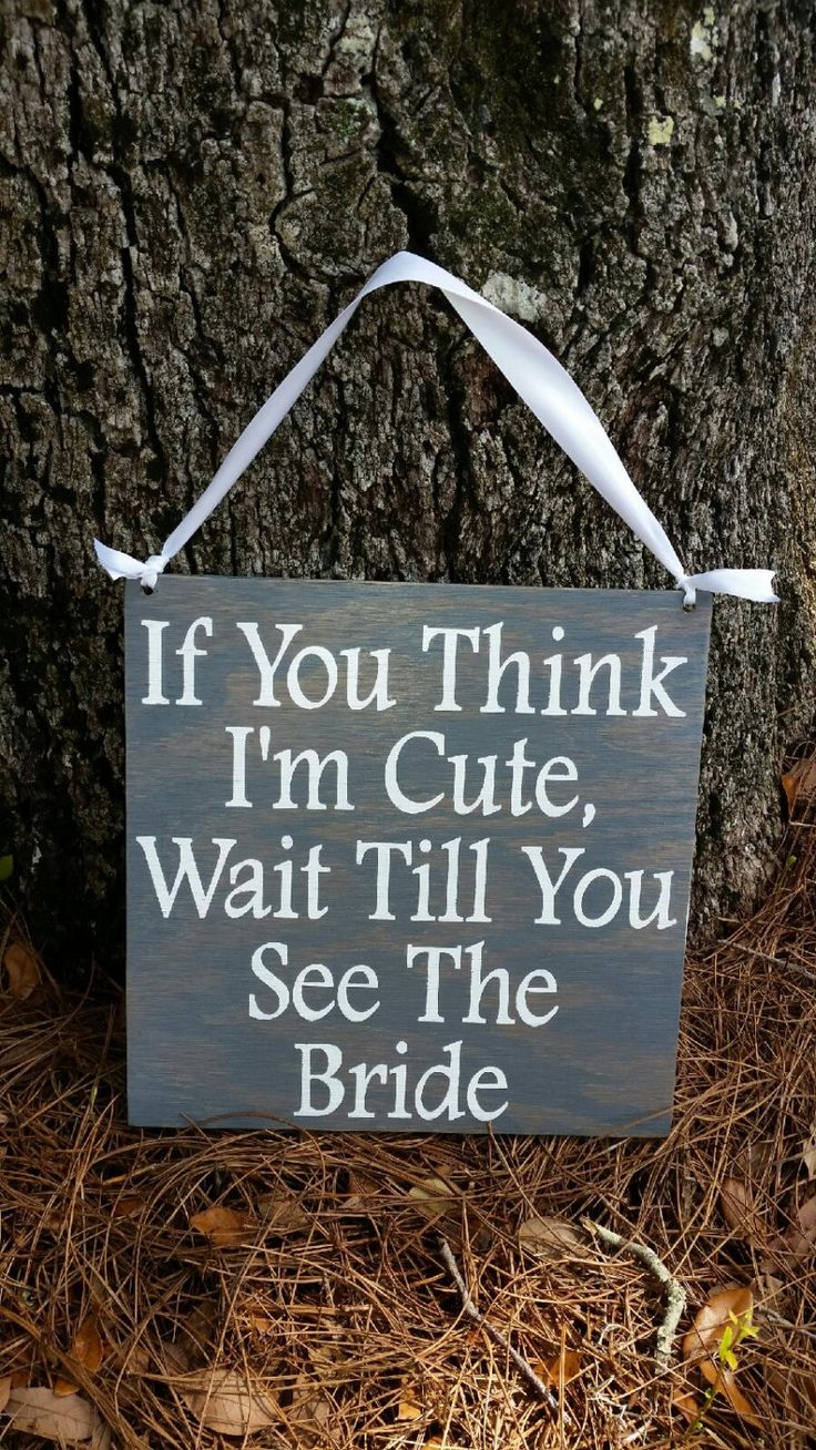 Ring Bearer Signs/Flower Girl Signs/Wedding Entrance/Wedding Exit/Wedding Ceremony Prop/Wedding Sign/Rustic Wedding/Country Wedding by CreativeDesignsByBri on Etsy