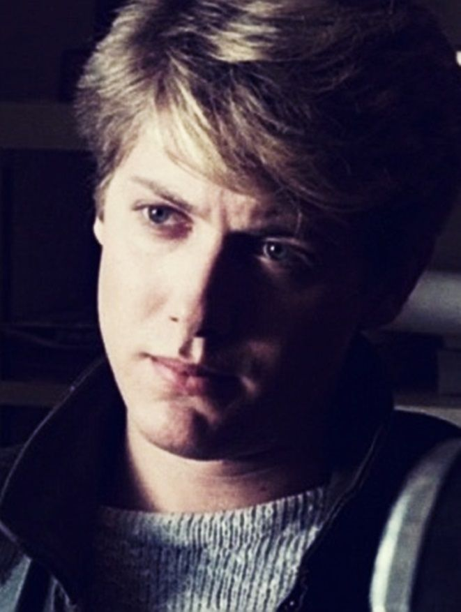 James Spader While young