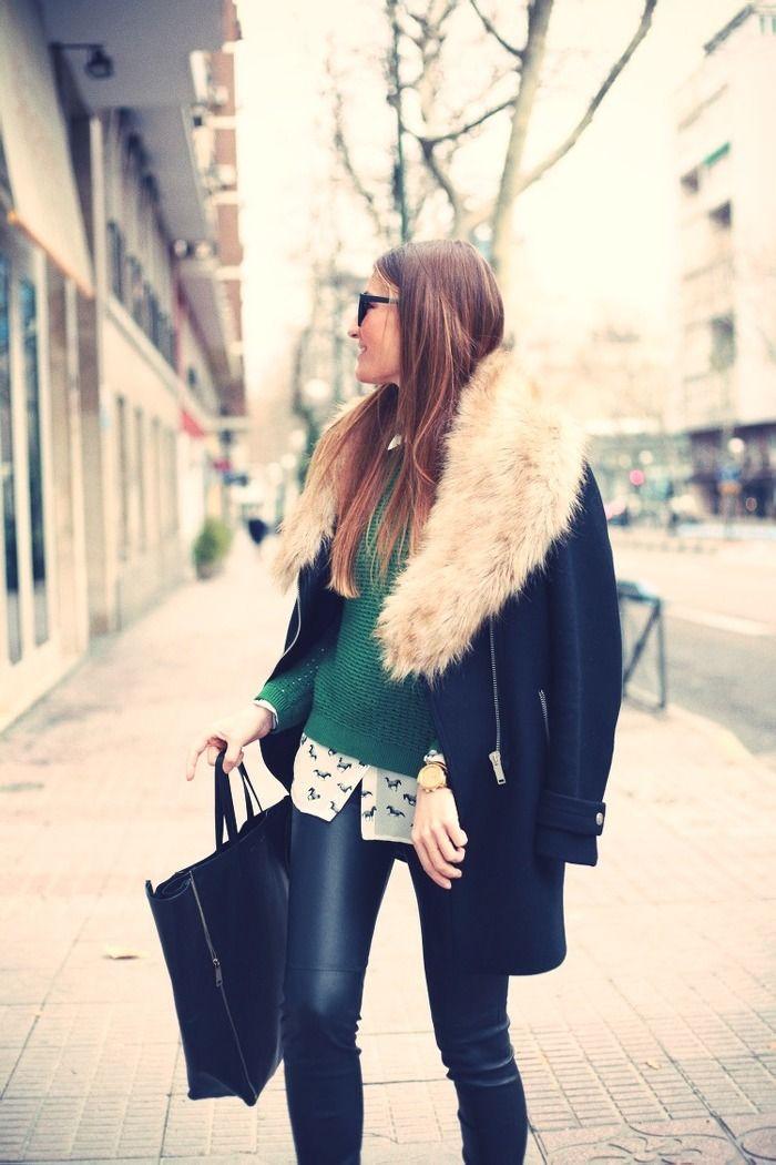 femme na pintereste pantalon simili cuir cuir femme a veste