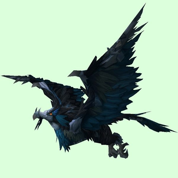 Blue Black Teroclaw Rabe