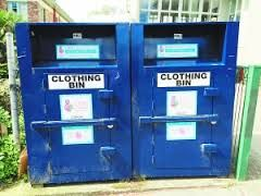 If you are not near a local charity op shop then drop off your used clothing to your local clothing bin - just make sure it's a reputable charity