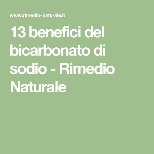 13 benefici del bicarbonato di sodio - Rimedio Naturale