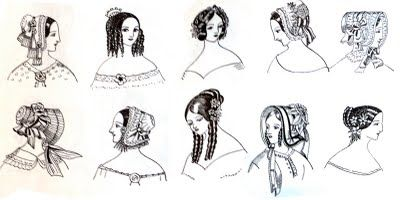 basic hair styles 28 best images about fashion then hair styles on 1840