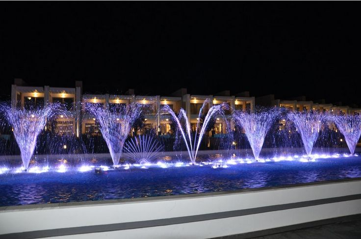 Beautiful water show - Photo taken by a guest