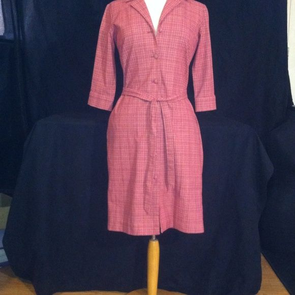 Leona Edmiston Dress Vintage inspired Australian designer, side pockets, the fabric is amazing, it has stretch, never worn Leona Edmiston Dresses Midi