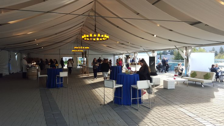 Fairmont Whistler Frame Tent with Event Rental Works