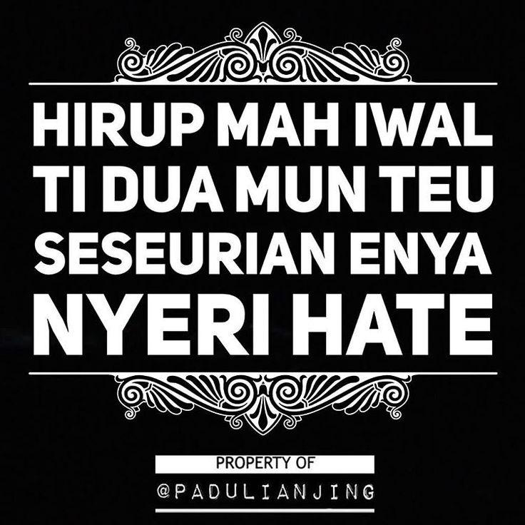 . Mun teu #SEUSEURIAN Enya #NYERIHATE . #padulianjing #memesunda #dagelan #memeindonesia #memecomicindonesia