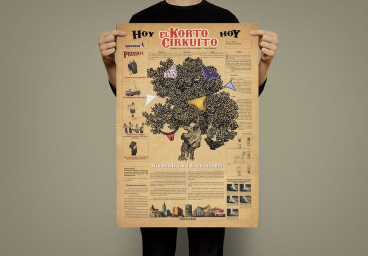 Afiche de MicroRelatos  EL ÁRBOL DE LOS CALZONES de Pedro Guillermo Jara